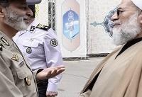 فرمانده کل ارتش با حجتالاسلام محمدحسنی دیدار کرد
