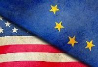 آمریکا با رویکرد اتحادیه اروپا درباره ایران موافق نیست