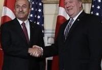 گفتگوی وزرای خارجه آمریکا و ترکیه درباره سوریه و ایران
