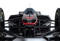 تصاویر خودروی مسابقه ای که با امواج مغز کنترل می شود