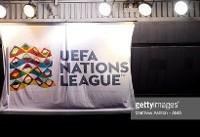 حاشیههای لیگ فوتبال ملتهای اروپا + تصاویر