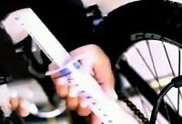 روش جالب در باد زدن تایر دوچرخه  + فیلم