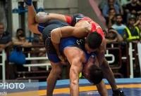 انتخابی وزن ۷۰ کیلوگرم تیم ملی کشتی آزاد امید برگزار شد