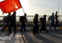 نظارت آتش نشانان تهرانی بر ایمنی زائران اربعین