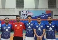 پیروزی تیم خبرگزاری میزان برابر خبرگزاری فارس در اولین مسابقه