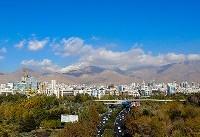 هوای تهران با شاخص ۷۶ سالم است