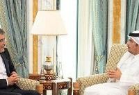 جابری انصاری با وزیر امور خارجه قطر دیدار و گفتگو کرد