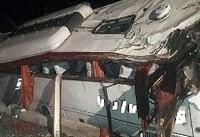 واژگونی اتوبوس ولوو در سمنان ۲ کشته و ۱۰ مجروح داد