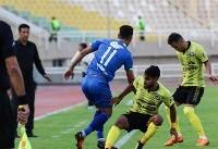 دیدار تیمهای استقلال خوزستان و پارس جنوبی