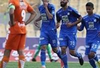 دیدار مهیج هفته نهم لیگ برتر | استقلال ۱ - سایپا ۱
