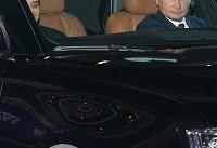 پوتین راننده رئیس جمهور مصر شد! + فیلم