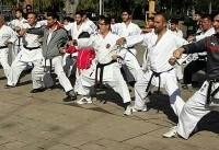 همایش بزرگ جامعه کاراته گیلان برگزار شد