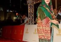عکس | پوشش خاص فاطمه معتمدآریا در یک جشنواره