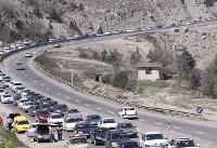 محورهای مواصلاتی کشور با جوی آرام و بدون ترافیک /بارندگی در خوزستان