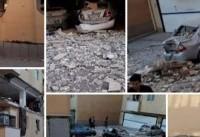 انفجار بر اثر نشت گاز در رباط کریم ؛ ۴ واحد مسکونی تخریب شد + عکس