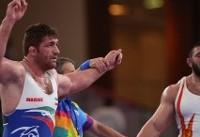 پرویز هادی قهرمان المپیک را از پا درآورد