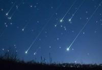 اوج بارش جباری و حضور ماه افزاینده در آسمان شامگاهی امشب