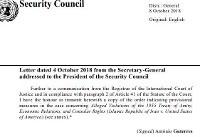 قرار موقت لاهه درباره شکایت ایران از آمریکا در شورای امنیت ثبت شد