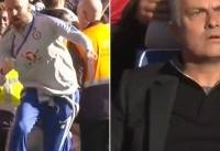 مورینیو: عذرخواهی مربی چلسی را پذیرفتم