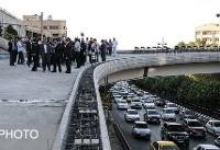 ساخت نیمه شمالی بزرگراه صیاد شیرازی در ۸۰ روز