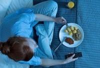 رابطه غذا خوردن دیر وقت و افزایش وزن