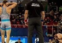 فیلم شکست حسن یزدانی از دیوید تیلور در مسابقات جهانی