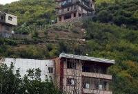 تخریب ساخت و سازهای غیرمجاز در بلوار صیاد شیرازی گرگان