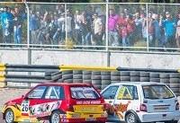 مرحله دوم مسابقات اتومبیلرانی سرعت برگزار شد