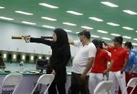 تمرینات خشک در اردوی تیم ملی تیراندازی