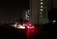 جان باختن ۲ شهروند کرجی با تاریکی معابر