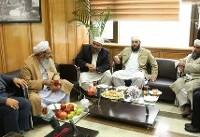 حضور عبدالحمیدمولوی در شورای شهر تهران و دیدار با حق شناس