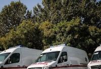 استقرار ۱۰ آمبولانس و اتوبوس آمبولانس در نجف اشرف