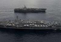 آمریکا ناوهای جنگی به تنگه تایوان اعزام کرد