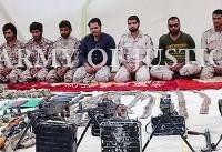 اسامی و تصاویر ۱۲ مرزبان ربوده شده به ادعای گروهک تروریستی جیشالعدل