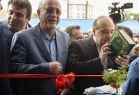 افتتاح یک پارک آبی توسط وزیر ورزش