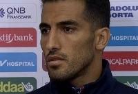 وحید امیری: شرمنده هواداران شدیم