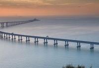 افتتاح طولانیترین پل دریایی دنیا در هنگ کنگ+عکس