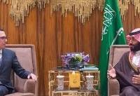 گفتوگوی بن سلمان و منوچین درباره تحریم نفتی ایران
