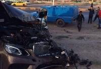 برخورد سواری با نیسان در آذربایجان شرقی با ۲ کشته و ۳ مصدوم
