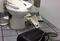 انفجار توالت های فرنگی در آمریکا! +عکس