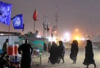 ارتباطات مرز مهران به حالت عادی برگشت
