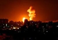 Israel says Iran is behind rocket barrage from Gaza