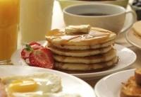 پیش از ورزش صبحگاهی صبحانه کمی مصرف کنید