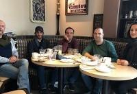 دیدار «روناک یونسی» با همکارانش در تورنتو پس از مدتها /عکس