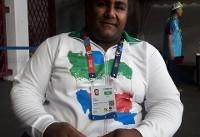 برنده سه مدال پاراآسیایی: در جاکارتا بخاطر سبزی خواری نتوانستم رکورد جهان را بزنم!