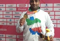 بازیهای پاراآسیایی جاکارتا ۲۰۱۸؛ سپهوند طلا گرفت و رکورد جهان را ارتقا داد