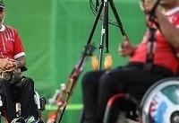 کمانداران معلول در کیش اردو می زنند
