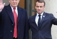 روسای جمهور فرانسه و آمریکا درباره ایران رایزنی کردند