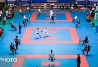قهرمانی قم در المپیاد استعدادهای برتر کاراته