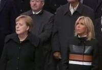 آغاز مراسم صدمین سالگرد پایان جنگ جهانی اول در پاریس